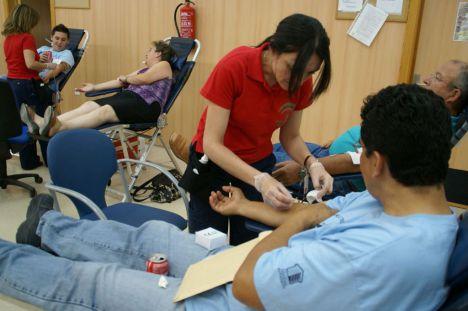 140 donaciones de sangre en un día en Vícar