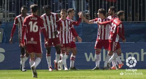 El Almería afronta una semana con dos partidos en sólo 72 horas