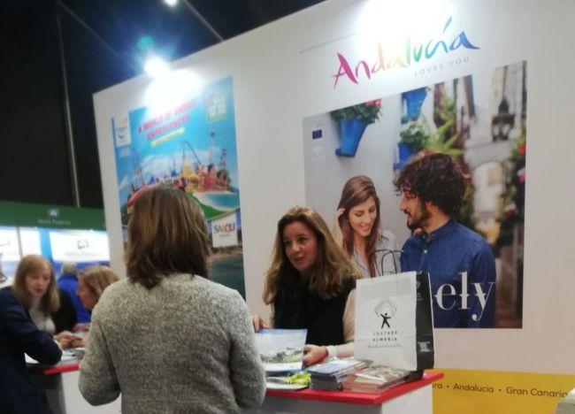 'Costa de Almería' se acerca a la Feria 'Holiday World' de Belfast