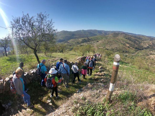 La Tahá De Pitres abre el Programa 'Deporte Y Naturaleza' de Vícar