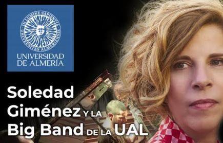 Sole Giménez y la Big Band de la UAL en el Maestro Padilla