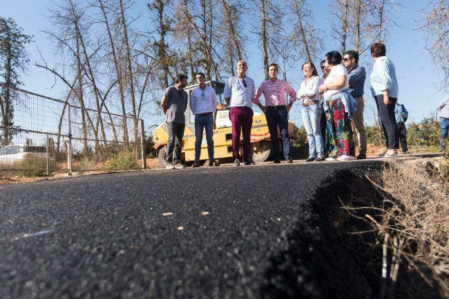 El Ayuntamiento de El Ejido mejorará la carretera Las Salinas a Berja