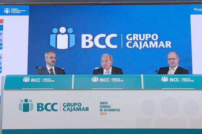 Cajamar concederá financiación a afectados por granizo y lluvias torrenciales