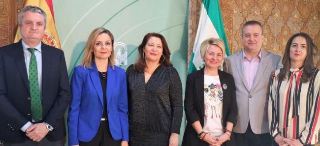 """Carmen Crespo: """"El Gobierno del Cambio ha situado a Almería en el mapa de las inversiones de la Junta de Andalucía"""""""