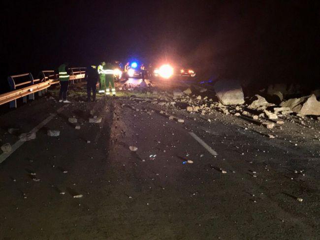 Aprobadas las obras de emergencia en El Cañarete para evitar nuevos desprendimientos