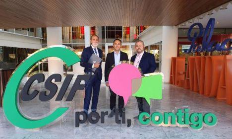 CSIF reitera la necesidad de crear empleo de calidad en Almería