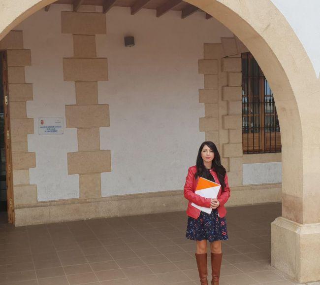 Almudena Serrano se queda en el equipo de gobierno de Huércal tras su expulsión de Cs