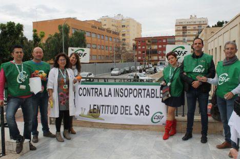 En el Día contra el Cáncer CSIF apoya a los profesionales de Oncología