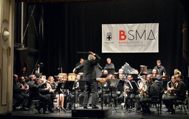 Doble cita esta semana con la Banda Sinfónica Municipal de Almería