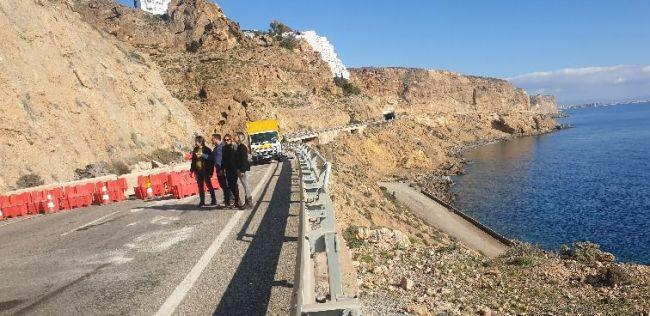 Tráfico cortará el paso de camiones una hora en la A-7 por el corte del Cañarete