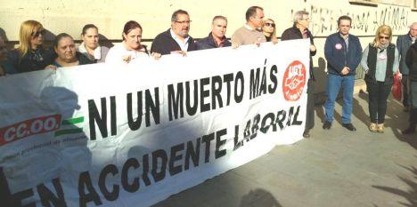Almería vuelve a liderar los accidentes laborales en Andalucía