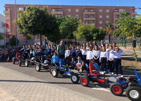 Cuatro colegios De La Provincia Visitaran El Parque Infantil De Tráfico de Vícar