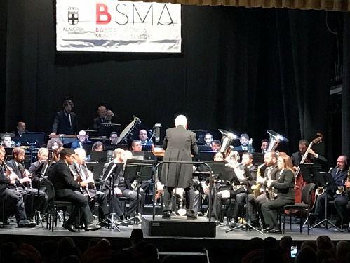 La Banda Sinfónica celebra el Día de Andalucía en el Maestro Padilla