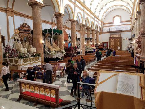 Suspenden la procesión en honor a la Virgen de Gádor en Berja