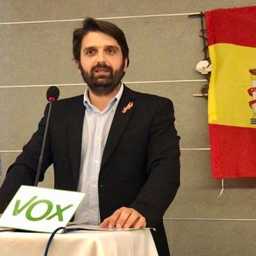Juan Francisco Rojas (Vox) también positivo tras su paso por Vistalegre
