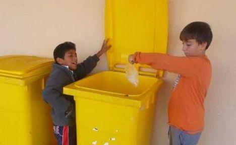 El CEIP Tierno Galván De Vícar encabeza La Liga Del Reciclaje Del Poniente