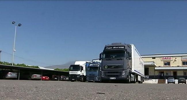 Los transportistas piden no pagar peaje durante el Estado de Alarma