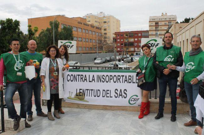 La temporalidad en Sanidad llega al 27% en Almería