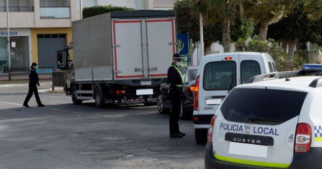 28 detenidos y 1.292 denuncias por incumplir el confinamiento en Semana Santa