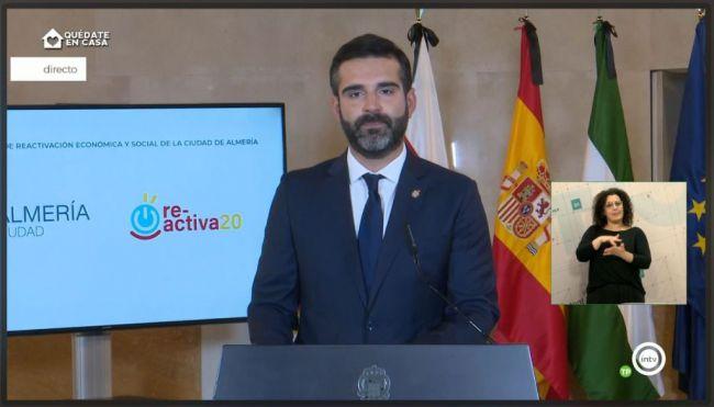 El alcalde de la capital ve 'lógico' que el desconfinamiento empiece por Almería
