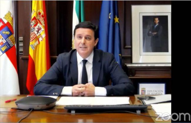 El presidente de la Diputación a favor de desconfinar Almería