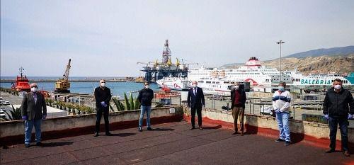 La Autoridad Portuaria de Almería prevé 50 millones de euros en obras hasta 2024