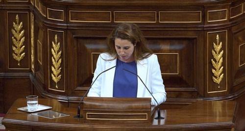 Zasca del Gobierno a Rocío de Meer (Vox)