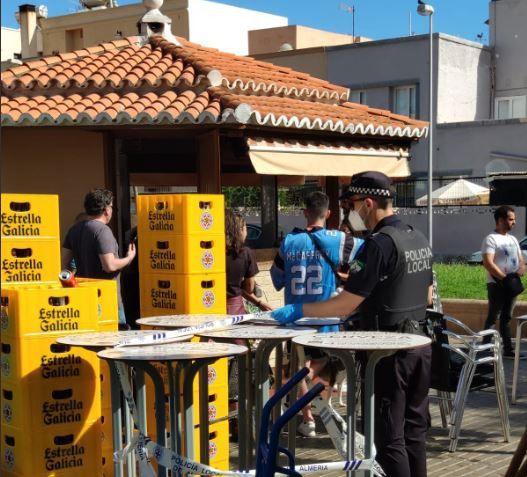 Solo dos sanciones en Almería en el primer día en Fase1