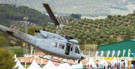Rescatado en helicóptero un parapentista accidentado en la sierra en Pulpí
