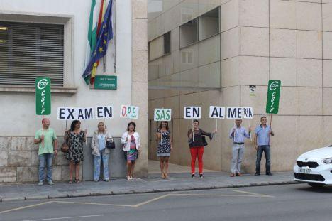 CSIF estabilidad para los 1.600 profesionales de las Agencias Públicas Sanitarias de Almería