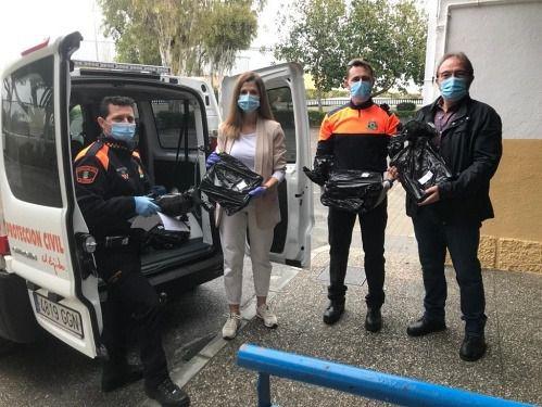 El alcalde de El Ejido ensalza la labor de Protección Civil durante el #COVID19