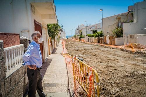 El Ayuntamiento de Roquetas explilca que las obras de Puertosol se pararon por el Estado de Alarma