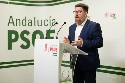 """El PSOE reclama a la Junta """"menos esculturas"""" a los sanitarios por el #COVID19"""