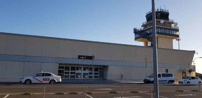 Los pasajeros del Aeropuerto de Almería cayeron el 99,5% entre mayo de este año y el anterior