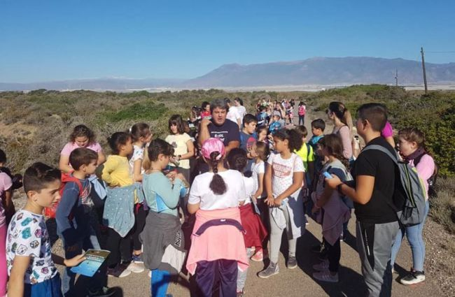 Itinerarios de educación ambiental por Punta Entinas