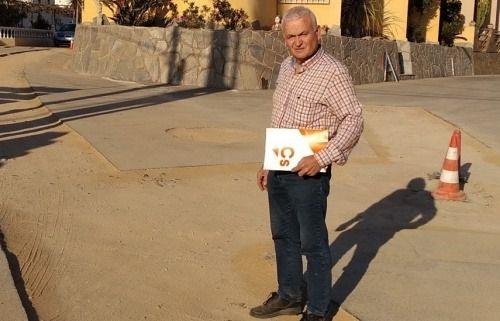 Cs pide al Ayuntamiento de Antas incrementar las labores de desinfección