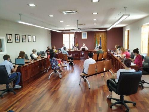 El Ayuntamiento de Huércal aprueba por unanimidad ejecutar el PFEA