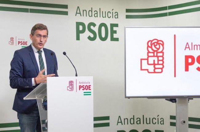 El PSOE critica el acto de Moreno y Casado en Almería·'en plena explosión' del #COVID19