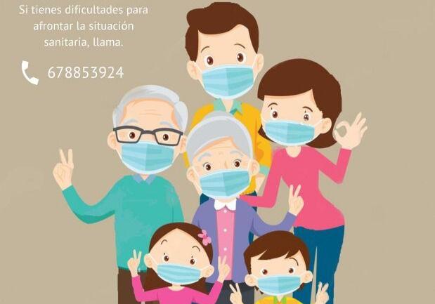 El Ayuntamiento de Adra da apoyo psicológico por los efectos de la pandemia
