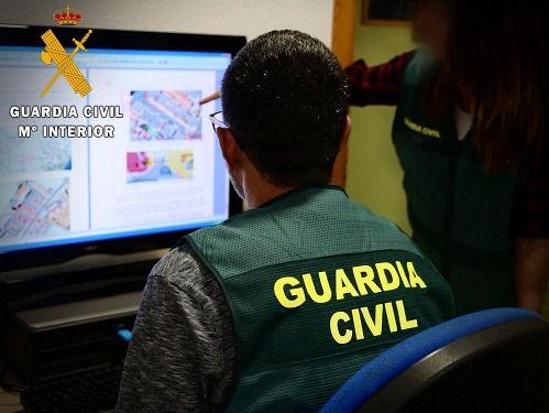 Esclarecidas 20 estafas por phising bancario centralizadas en Almería