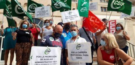 CSIF denuncia falta de transparencia en contrataciones en Sanidad
