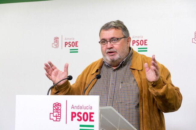 El PSOE denuncia la falta de conexión al alcantarillado del CEIP Llanos de Marín