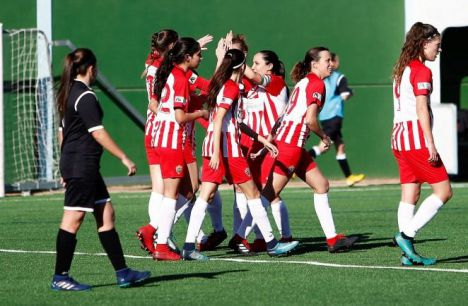 El Almería Femenino renueva a dieciocho de sus jugadoras