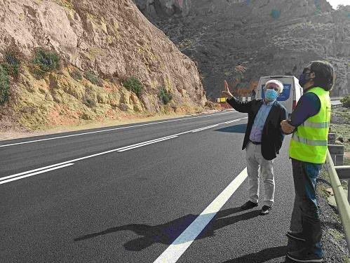 Afecciones al tráfico por el corte de la carretera de El Cañarete