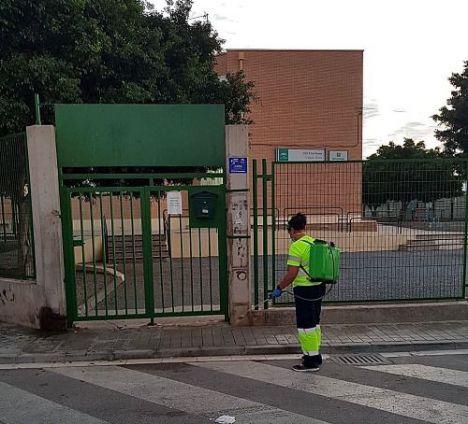Primeros cierres de aulas y aislamiento de escolares por #COVID19 en toda Almería
