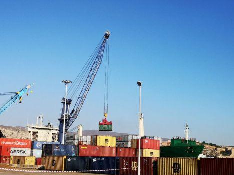 Las exportaciones de la Autoridad Portuaria de Almería crecen un 2,5% entre enero y julio
