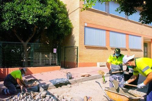 La Junta sí ha hecho un centenar de obras en colegios de Almería por el #COVID19