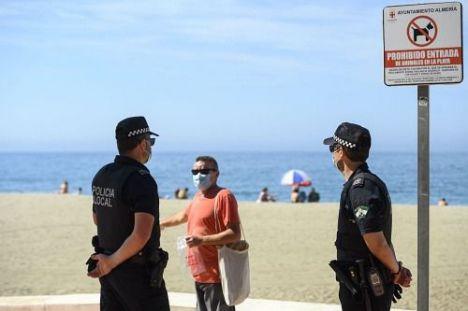 El #COVID19 mantiene a 5 miembros de Seguridad del Estado enfermos en Almería