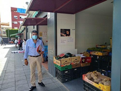 Cs propone un plan de choque para revitalizar el comercio del centro de Almería