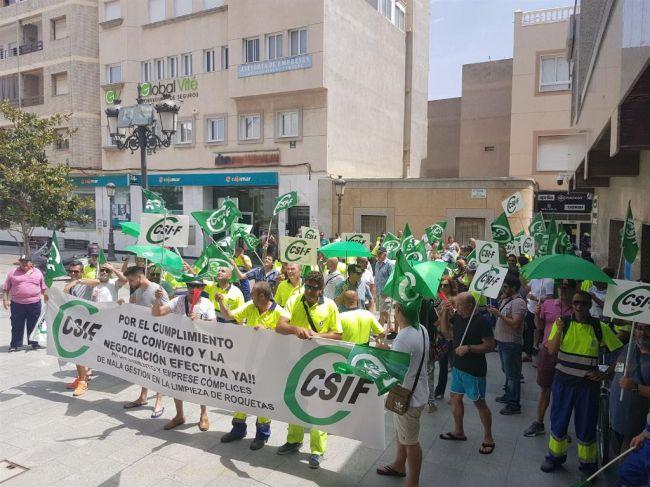 CSIF destaca la temporalidad en el empleo generado en Almería